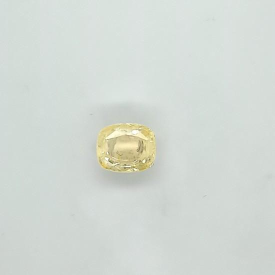 Yellow Sapphire (Pukhraj) 10.27 Ct Certified